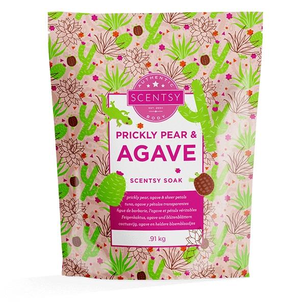 Prickly Pear & Agave Scentsy Soak