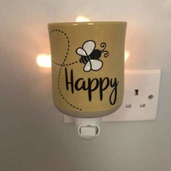 Scentsy Bee Happy Mini Warmer with Wall Plug