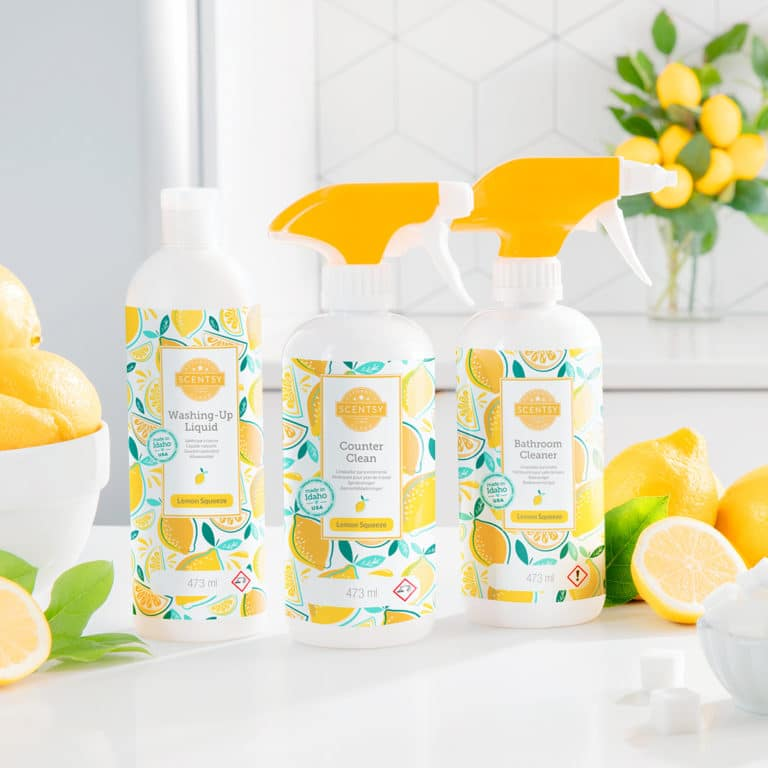 New Scentsy Lemon Squeeze Products