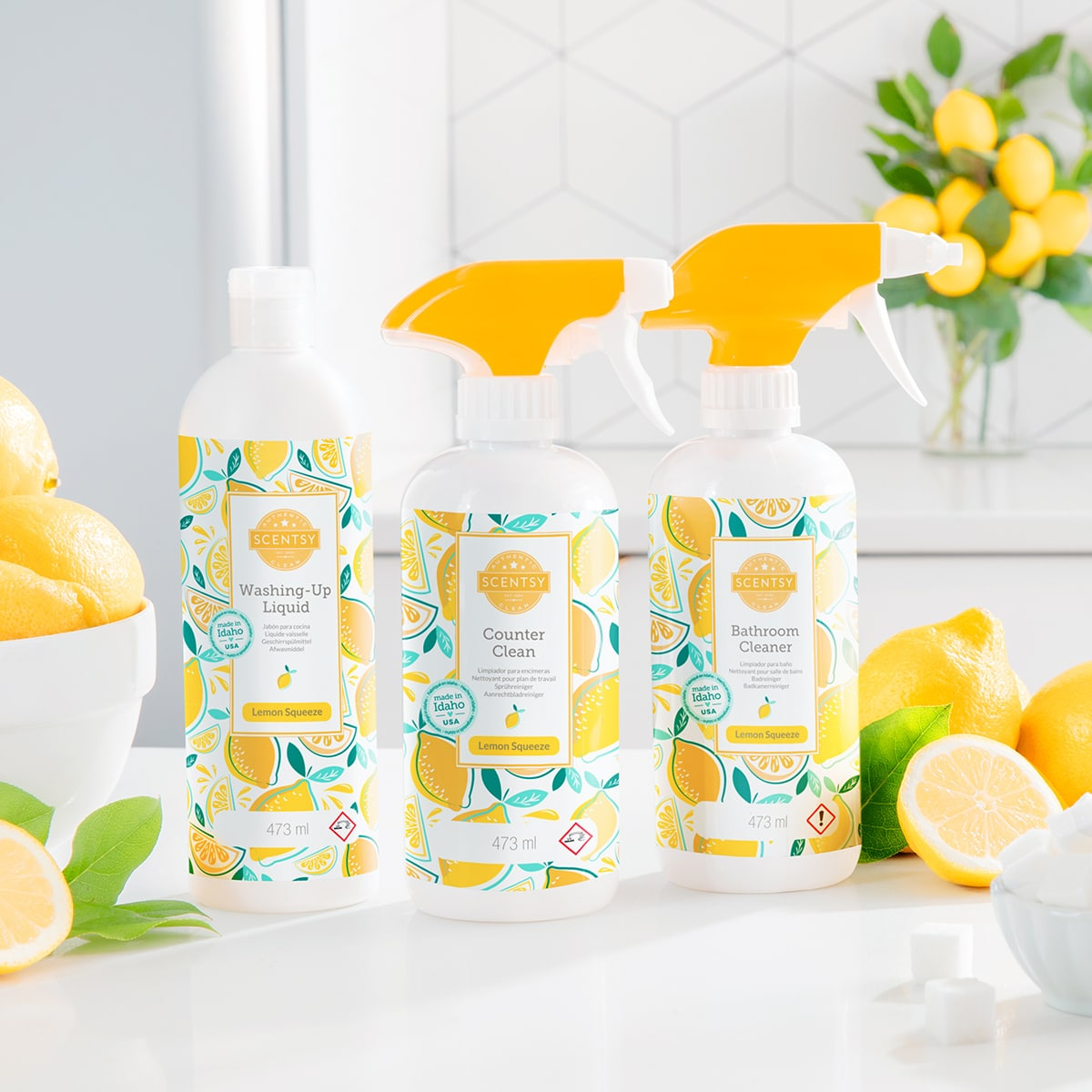 Lemon Squeeze Clean Scentsy Bundle