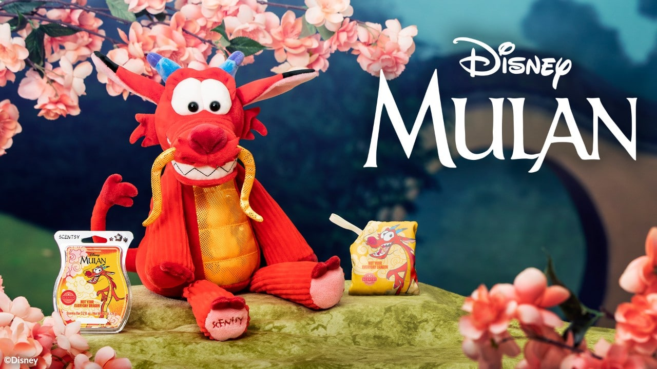 Mulan's Mushu joins The Disney Collection