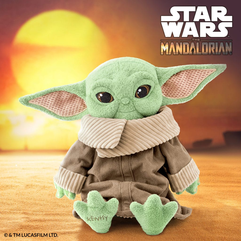 Scentsy Star War Baby Yoda Buddy