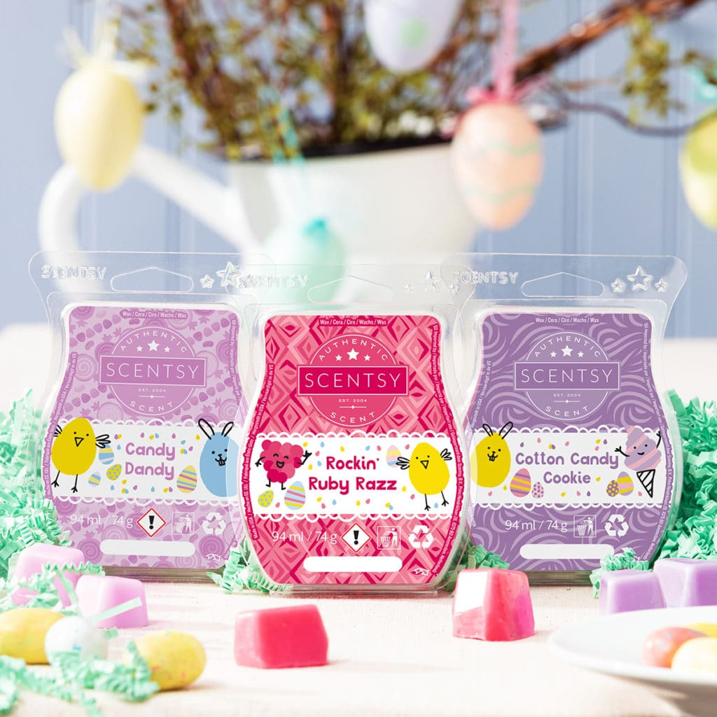 Scentsy UK Easter Collection Bar 3-Pack