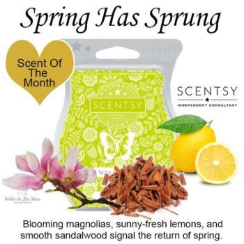 Spring Has Sprung Scentsy Bar