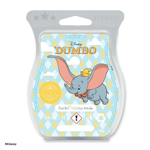 Dumbo: Circus Parade - Scentsy Bar £8.00