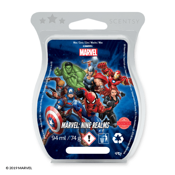 Marvel: Nine Realms - Scentsy Bar £8.00