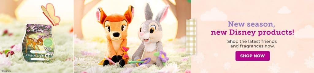 Thumper- Scentsy Sidekick & Bambi- Scentsy Sidekick
