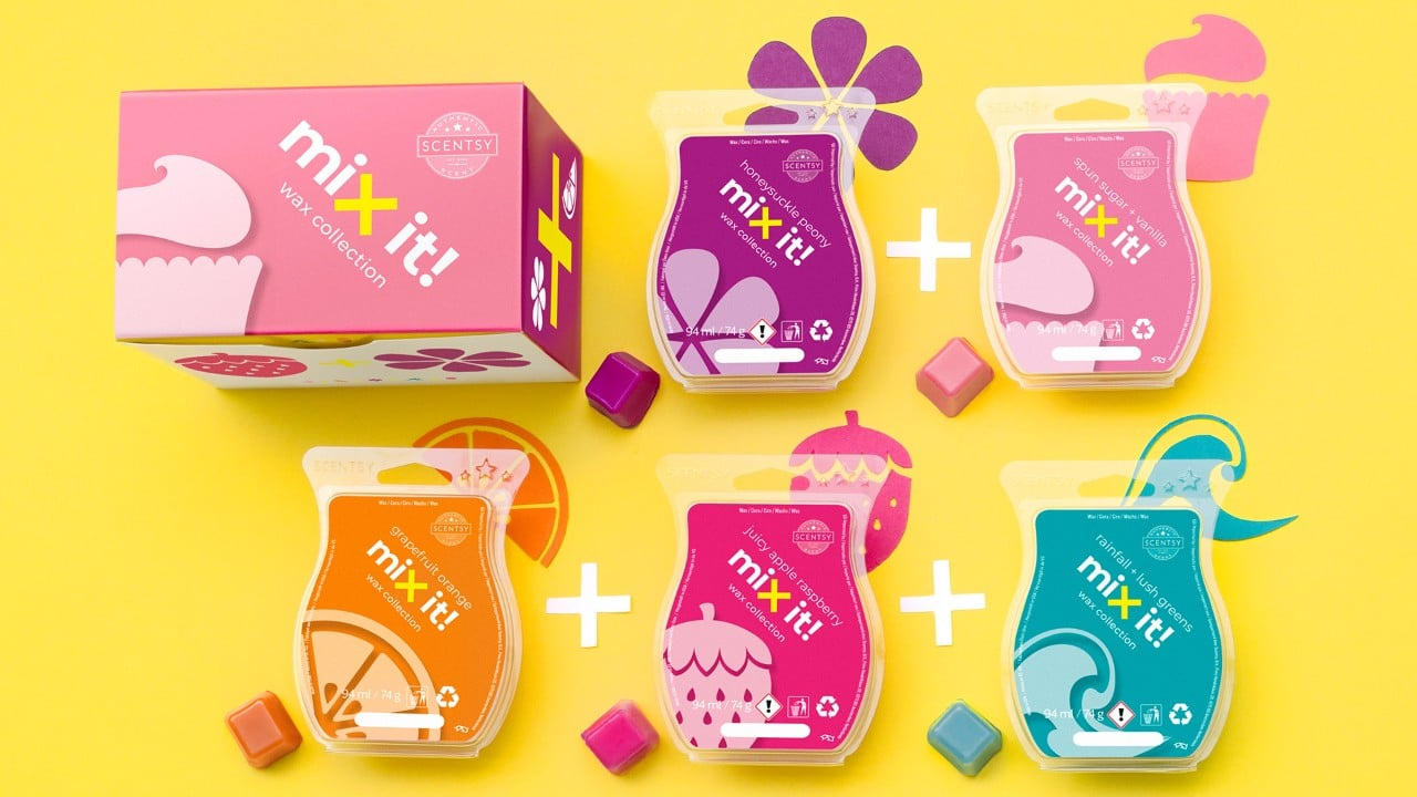 The Mix It! Scentsy Wax Collection