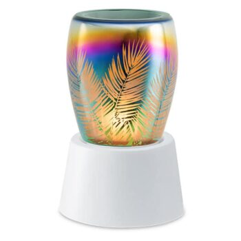 Frond of You Mini Warmer With Tabletop Base