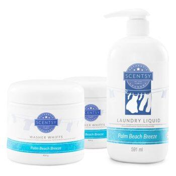 Palm Beach Breeze Scentsy Laundry Bundle