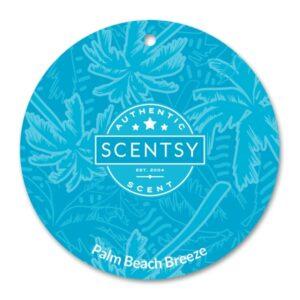 Palm Beach Breeze Scentsy Scent Circle