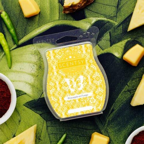 Pineapple en Fuego Scentsy Bar