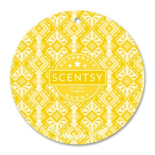 Pineapple en Fuego Scentsy Scent Circle
