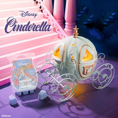 Scentsy UK Disney Cinderella Carriage Warmer