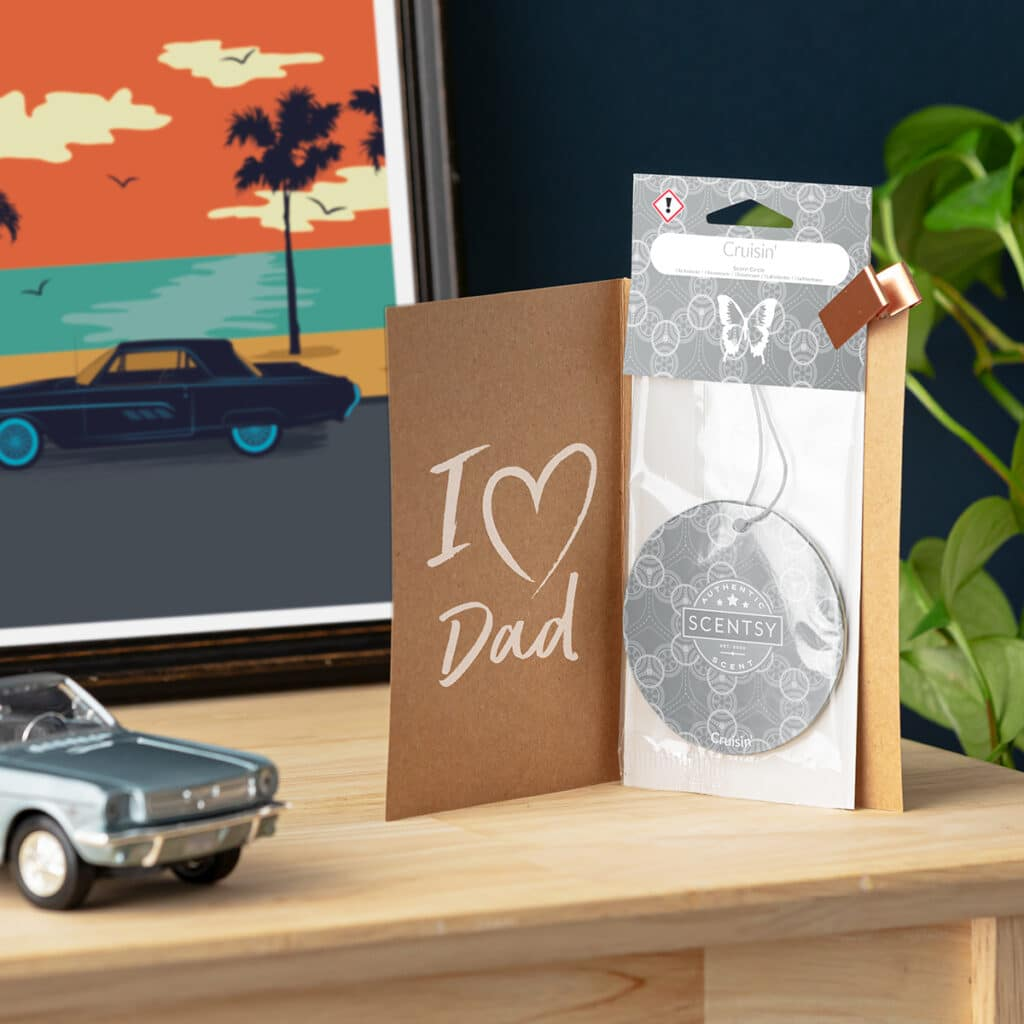 Scentsy UK Father Day Cruisin' Scent Circle