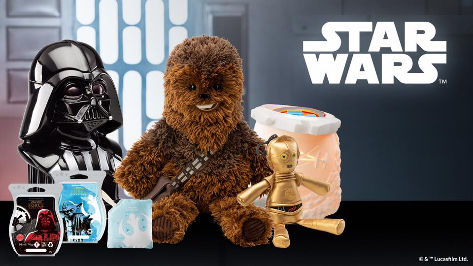 Scentsy UK Star Wars Collection
