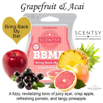Grapefruit and Acai Scentsy Bar