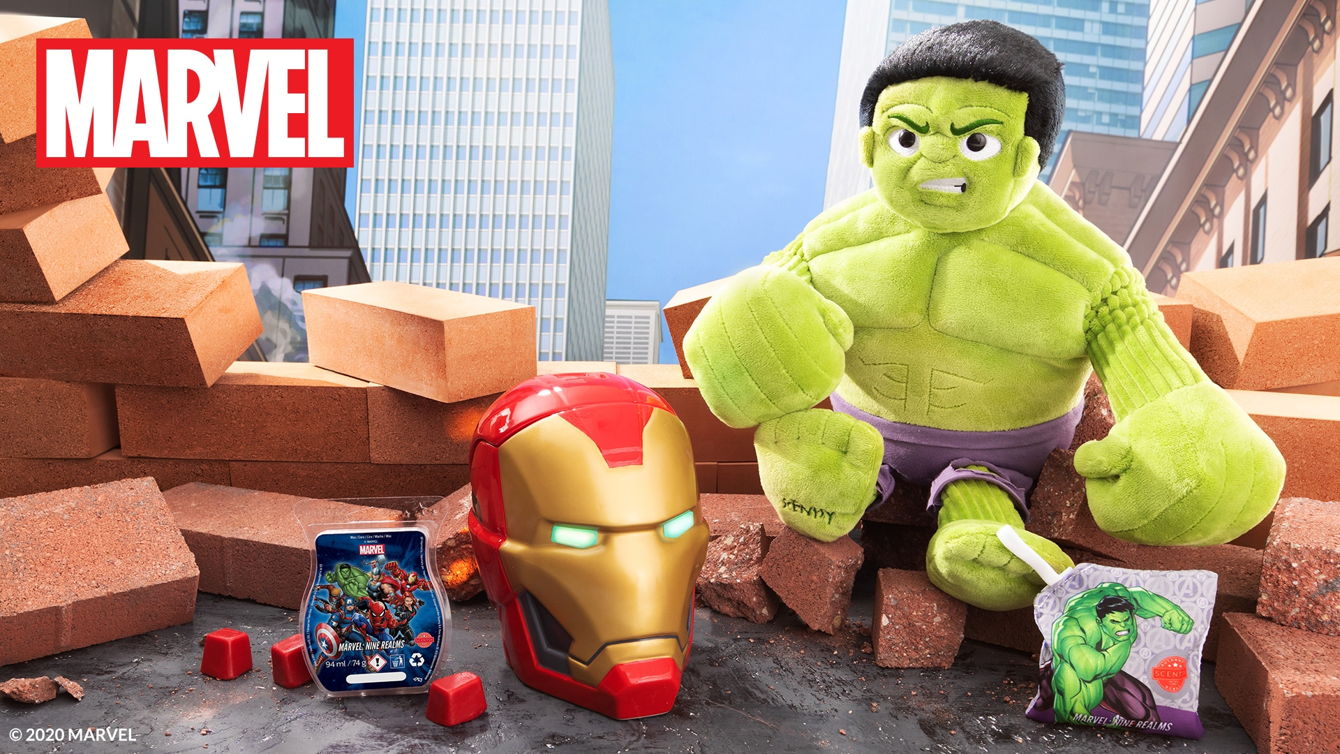 Hulk and Iron Man Scentsy UK Products