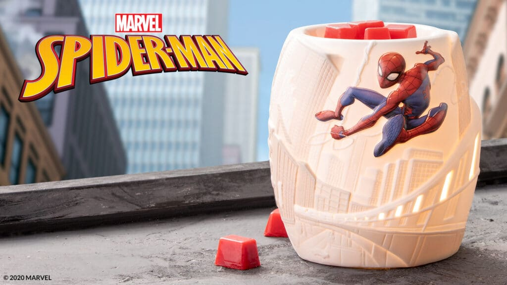 New Marvel Spider-Man – Scentsy Warmer