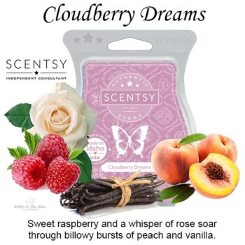 Cloudberry Dreams Scentsy Bar