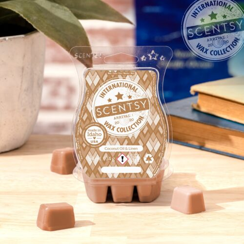 Coconut Oil & Linen Scentsy Bar