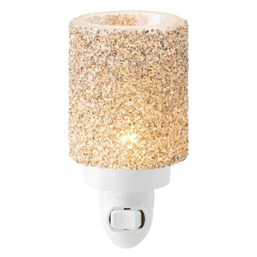 Glitter Silver Plugin Mini Scentsy Warmer