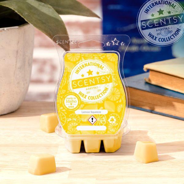 Lemon Squeeze Scentsy Bar