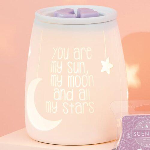 My Sun & Moon Scentsy Warmer