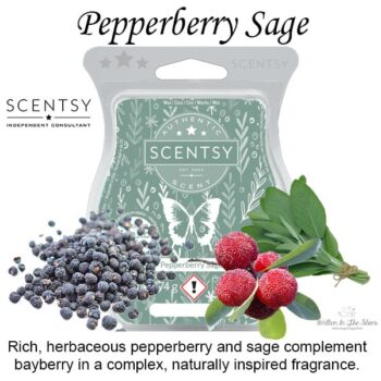 Pepperberry Sage Scentsy Bar
