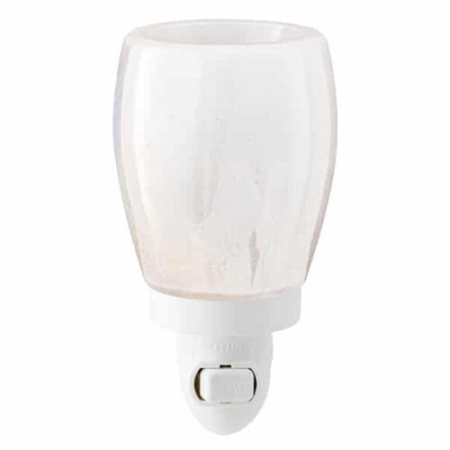 Perfect Pearl Plugin Mini Scentsy Warmer Off