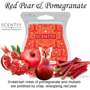 Red Pear and Pomegranate Scentsy Wax