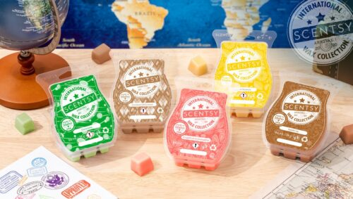 Scentsy International Collection launches 13 July 2020