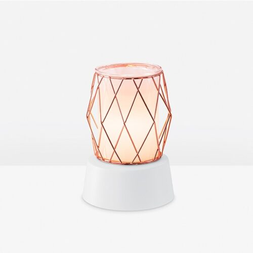 Wire You Blushing? Mini Scentsy Warmer With Tabletop Base