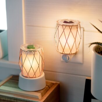 Wire You Blushing Scentsy Mini Warmer