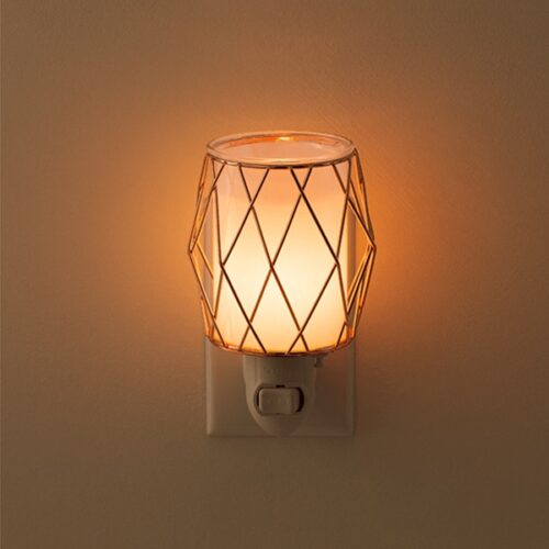 Wire You Blushing Scentsy Plugin Mini Warmer Real Life