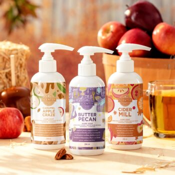 2020 Scentsy Harvest Hand Soap 3 Pack Bundle