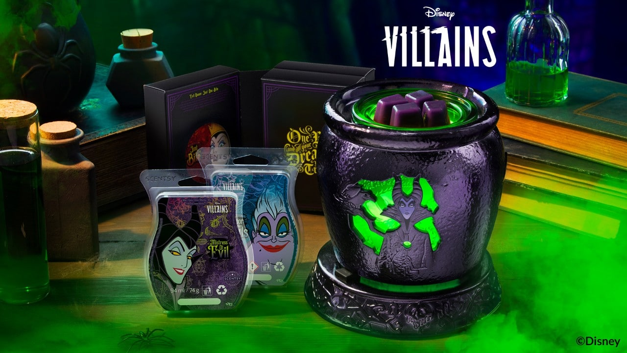 Disney Villains Scentsy Collection