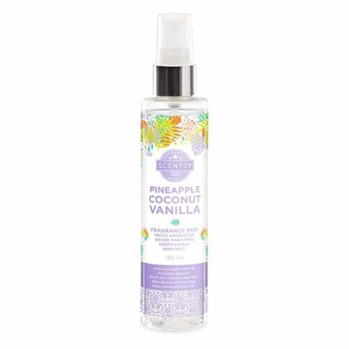 Pineapple Coconut Vanilla Fragrance Mist