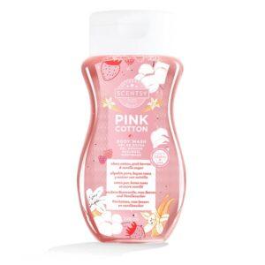 Pink Cotton Body Wash
