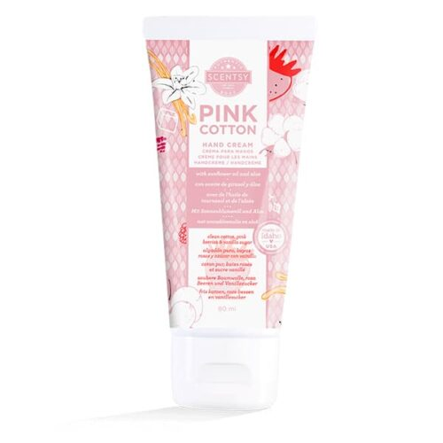 Pink Cotton Hand Cream