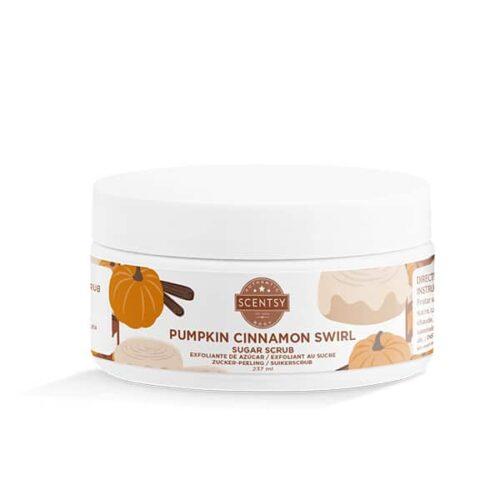 Pumpkin Cinnamon Swirl Sugar Scrub