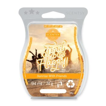 Sunrise with Friends Scentsy Wax Bar
