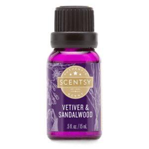 Vetiver & Sandalwood Natural Oil Blend
