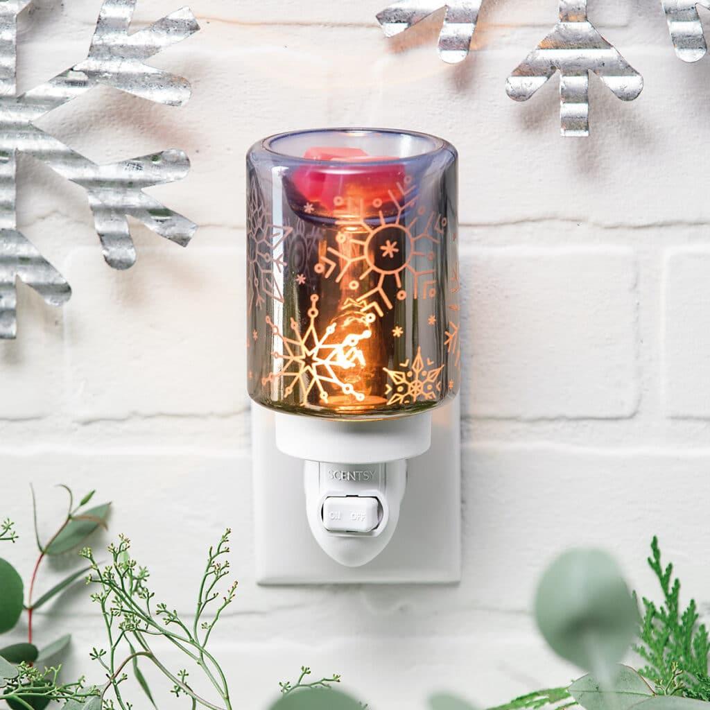 Crystal Christmas Scentsy Mini Warmer