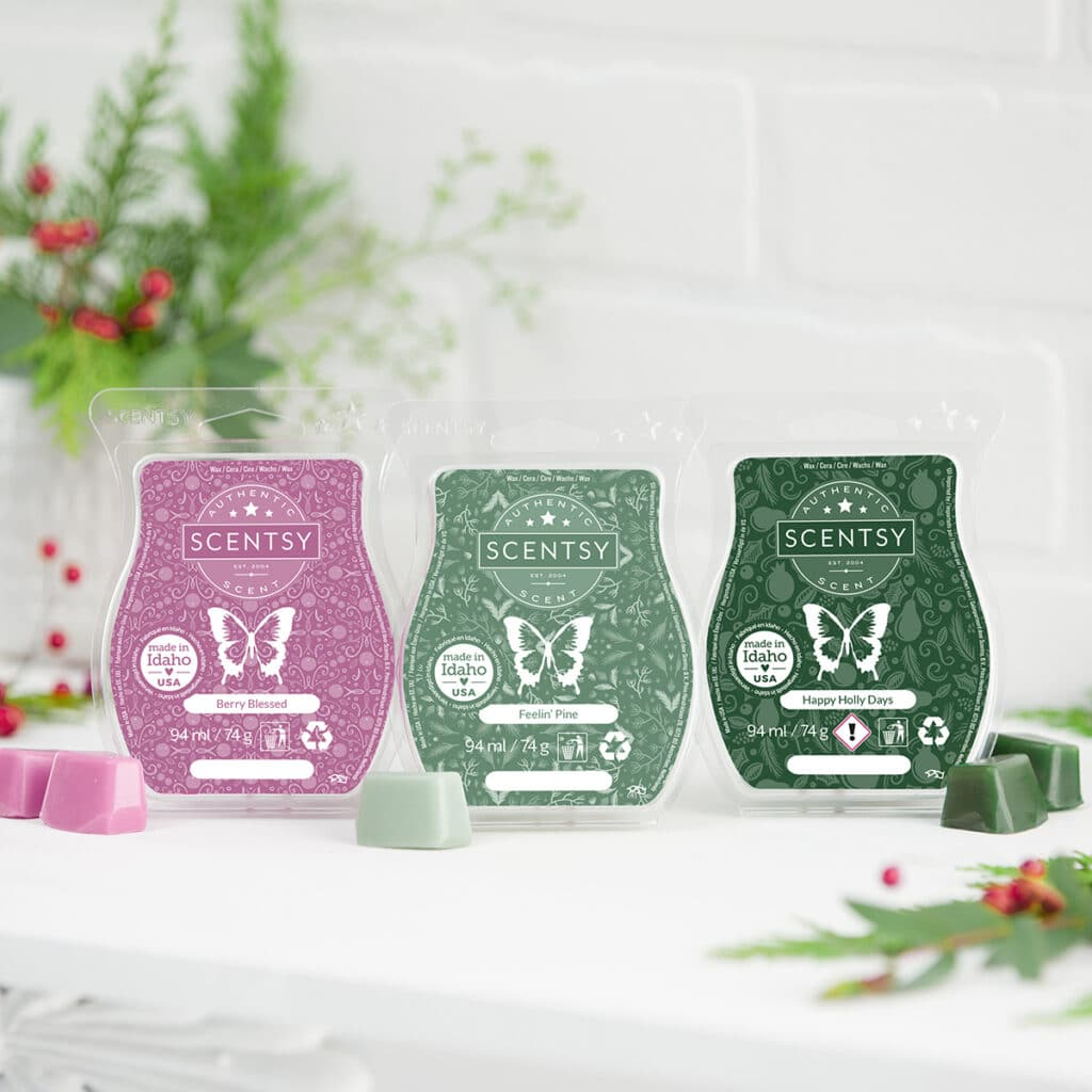 Let It Snow Scentsy 3 Bar Pack