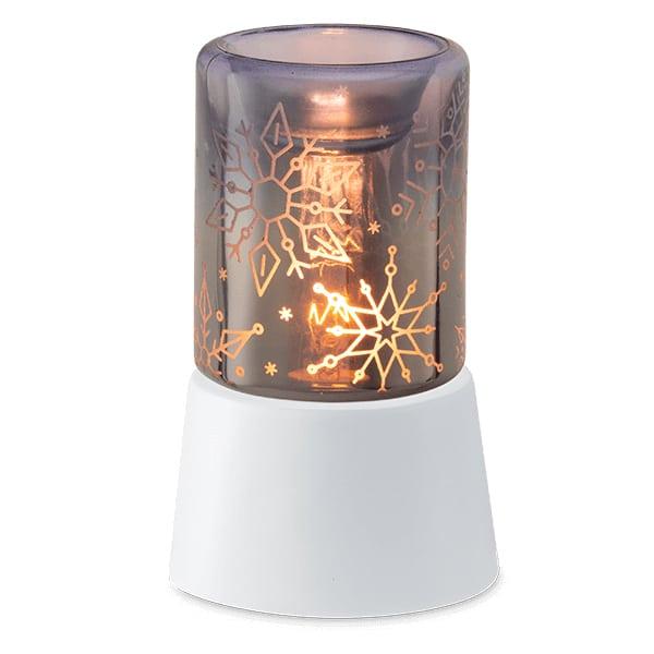 Crystal Christmas Mini Warmer with Tabletop Base