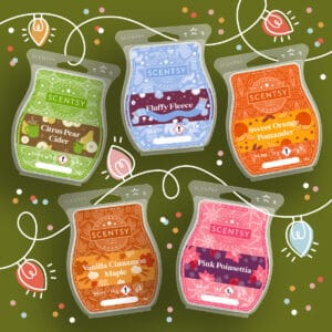 Home for the Holidays 2021 Scentsy Wax Collection