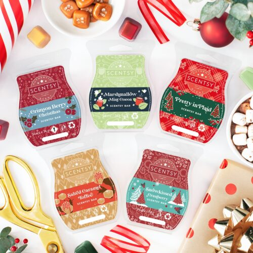 Home for the Holidays Scentsy Wax Collection