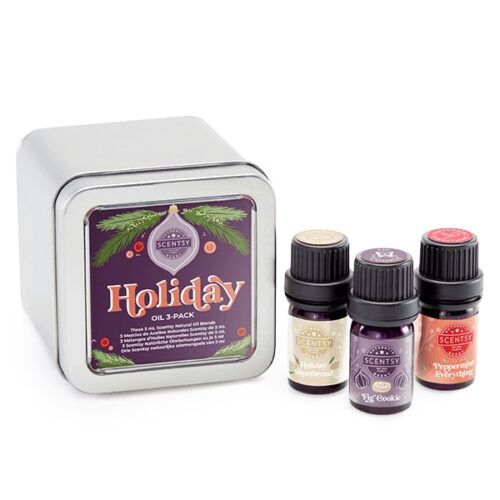 Scentsy Christmas Oil 3-pack
