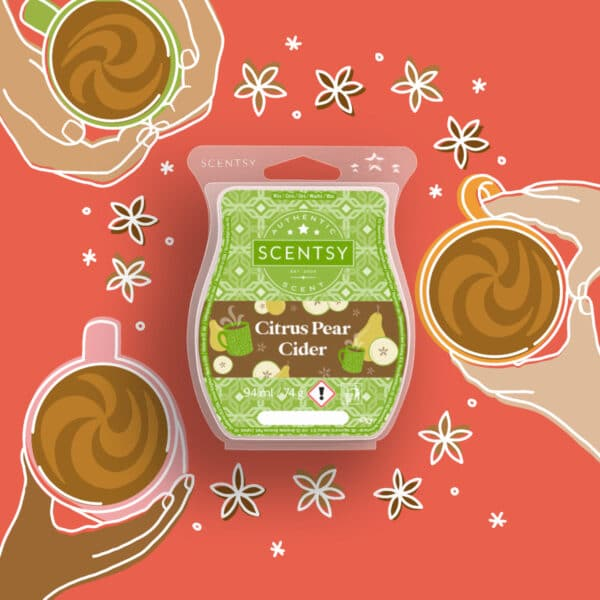 Spiced Pear Cider Home for the Holidays 2021 Scentsy Wax Collection
